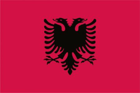 Albania Flag - 5ft x 3ft-0
