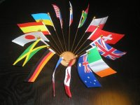 Polyester table flags - FLAG ONLY-0