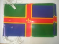 Lincolnshire flag bunting