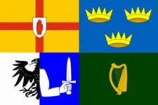 Ireland 4 provinces flag