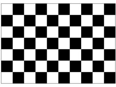 checkered flag black white