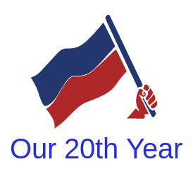 20th anniversary flags