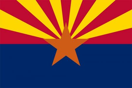 Arizona state flag - USA