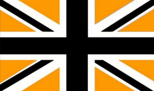 Union Jack/Flag - Black gold