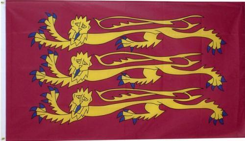 richard the lionheart england flag