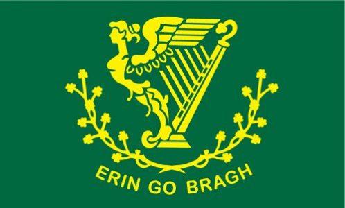 erin go bragh irish flag