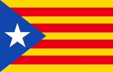 Estelada Blava Catalonia Independence flag