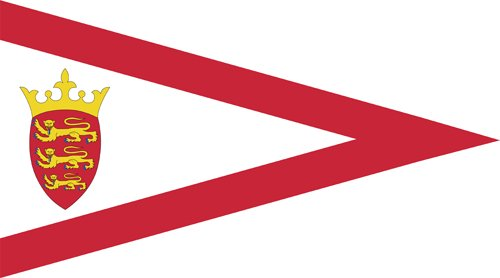 Jersey triangle flag