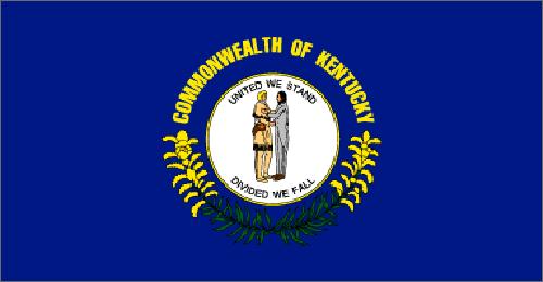 Kentucky state flag - usa