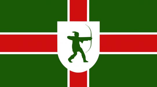 Nottinghamshire county flag