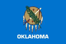 Oklahoma state flag - usa