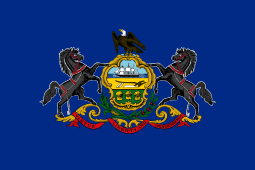 Pennsylvania state flag - usa