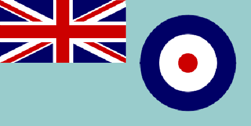 RAF Royal Air Force ensign flag