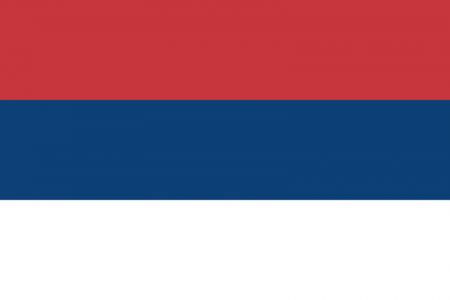 Serbia civil flag