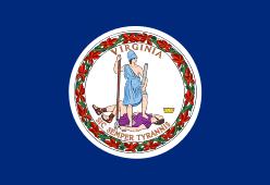 Virginia state flag - usa