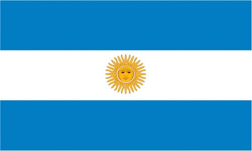 Argentina Flag 5ft x 3ft-0
