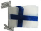 Finland Bunting - 33ft/10m - 20 plastic flags-0