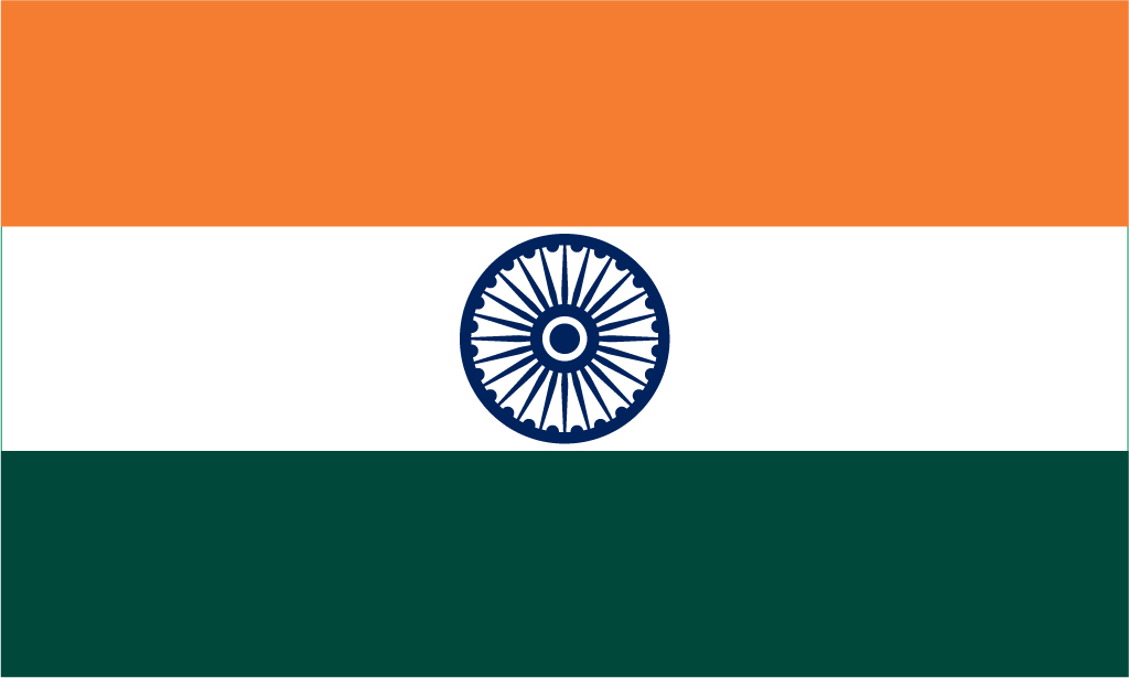 India Flag 5ft x 3ft | Flags of the World