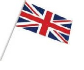 Union Jack handwaving Flag