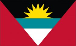 Antigua & Barbuda Flag 5ft x 3ft-0