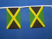 Jamaica Polyester Bunting with 30 Flags - 30ft/9m-0