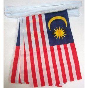 Malaysia flag bunting