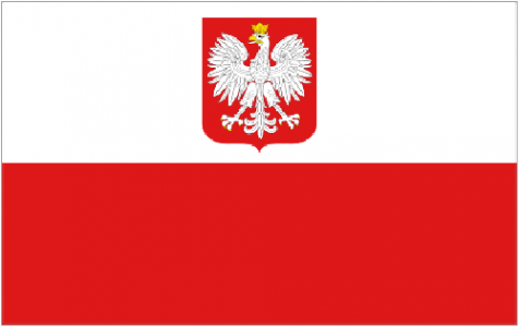 Poland state flag eagle