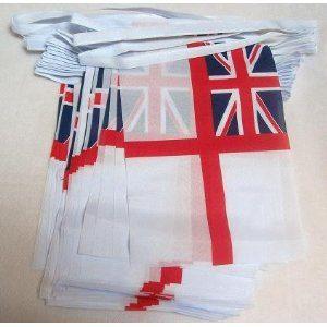 White Ensign flag bunting