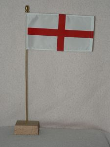 England St George table flags