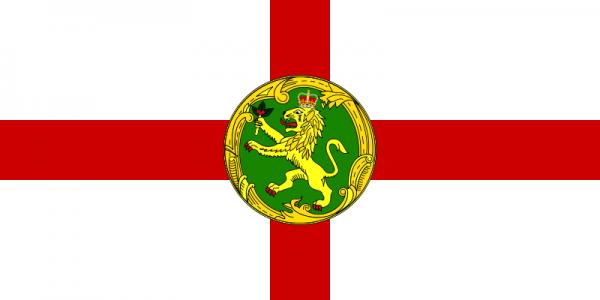 Alderney flag