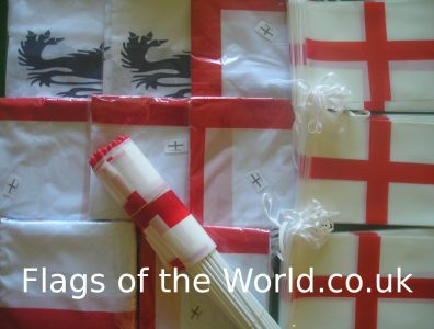 England flag and bunting collection