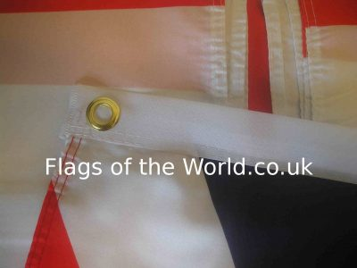 polyester flag with eyelets