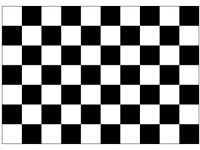checkered flag black white