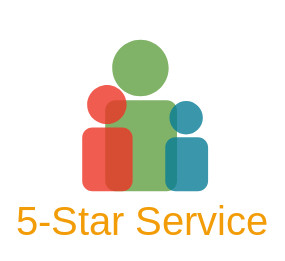 5 star service flags