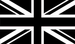 Union Jack Black/White