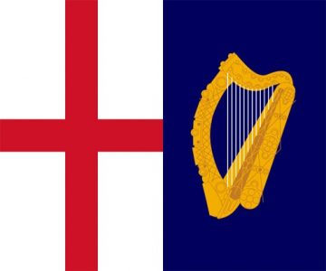 Commonwealth Jack & Command Flag 1649