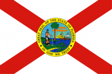 Florida state flag - USA