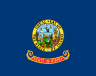 Idaho state flag - USA