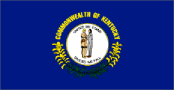 Kentucky state flag - usa