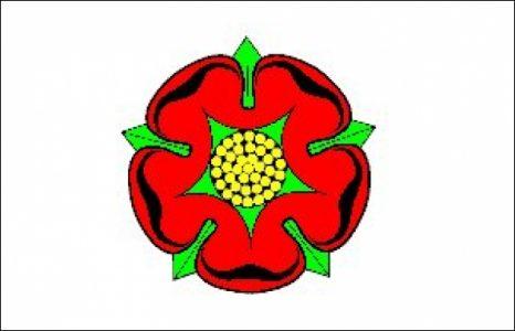 Lancashire Flag Old