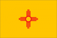 New Mexico state flag - usa