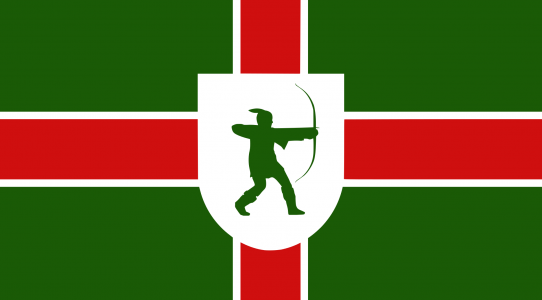 Nottinghamshire county flag