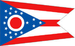 Ohio state flag - usa