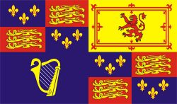 Royal standard House of Stuart