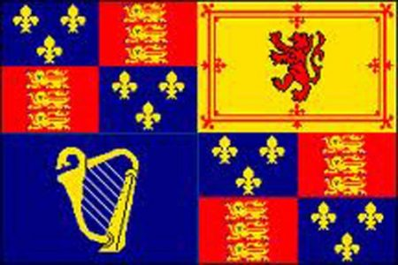 Royal banner of King William III of Orange,