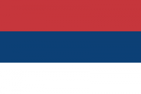 Serbia civil flag