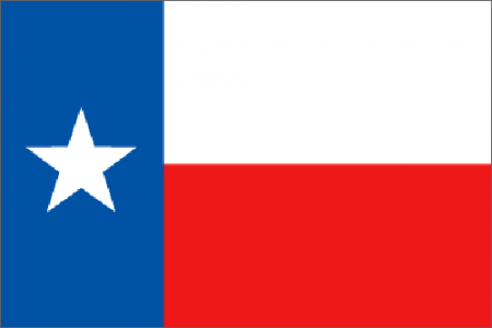Texas state flag - usa