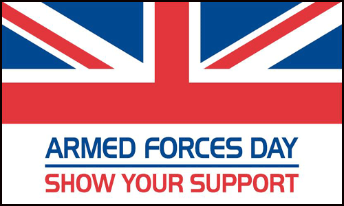 UK armed forces day flag