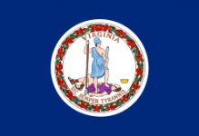 Virginia state flag - usa