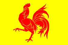 Wallonia flag